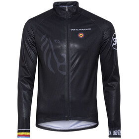 Bioracer Van Vlaanderen Pro Race Wind Jacket Men black
